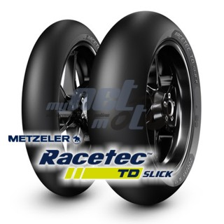 120/70 R17 (58W) RACETEC TD SLICK / METZELER