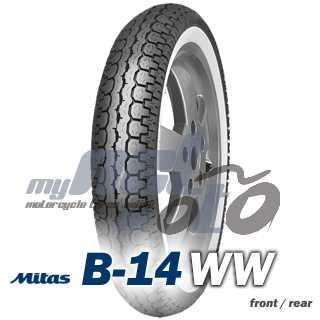3.50 -10 (69J) MITAS B14 WW / MITAS
