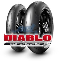 120/70 ZR17 (58W) DIABLO SUPERCORSA SP V3 / PIRELLI