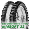 80/100 -21 (51M) TT SCORPION MX MID SOFT 32 F / PIRELLI